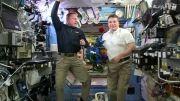 پیام تبریک کریسمس از ایستگاه فضایی بین المللی