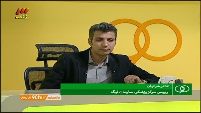گفتگو با دکتر زهره هراتیان درباره هادی نوروزی(نود۱۳مهر)