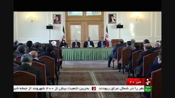 جابری انصاری سخنگوی وزارت خارجه و افخم ؛سفیر مالزی شد