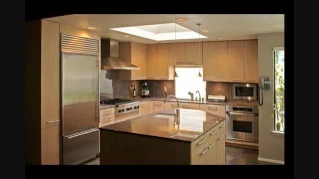 کابینت آشپزخانه ام دی اف  کابینت mdf  آرک آشپزخانه