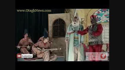 اجرای زیبای حامد بهداد در سریال دندون طلا!