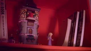 تبلیغات عروسک پرنسس های دیزنی ساخت شرکتlego