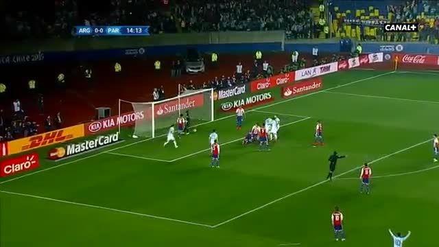 خلاصه کوتاه بازی : آرژانتین 6 - 1 پاراگوئه(کوپا آمریکا)