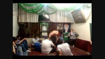شعر خوانی کربلایی جواد مظهری در شب ولادت امام حسین