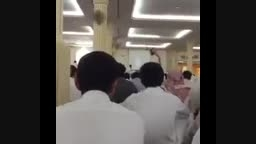 لحظه انفجار در مسجد امام حسین(ع) عربستان