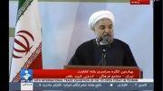 کنایه روحانی به آمارهای دروغ و میراث دولت احمدی