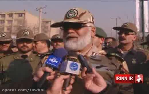 رزمایش نیروهای واکنش سریع ارتش و ناجا در تهران