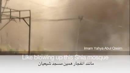 تخریب مساجد شیعه و سنی در موصل توسط نیروهای داعش