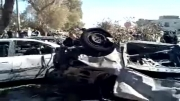 انفجار تروریستی وهابی سلفی