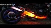 اگزوز عجیب موتورسیکلت !