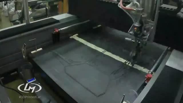 خودروی ۵۳ هزار دلاری ساخته شده توسط پرینتر سه بعدی
