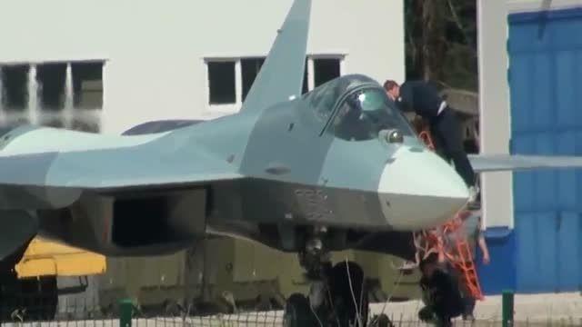 رونمایی از جدیدترین جنگنده ساخت روسیه