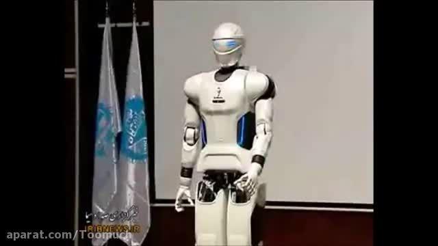 روبات انسان نمای سورنا سه ایران