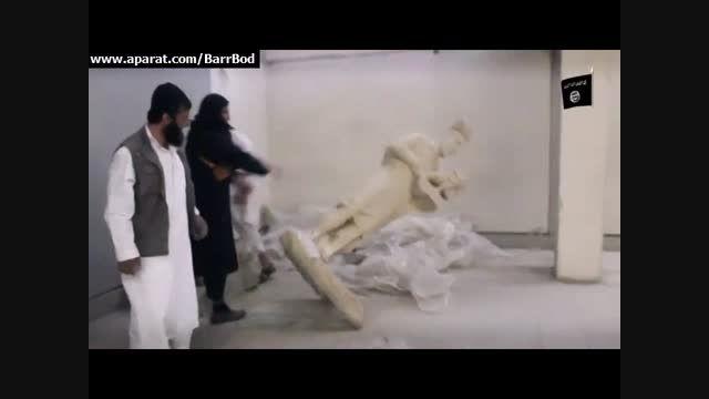 نابودی آثار هنری و باستانی عراق در موزه موصل بدست داعش