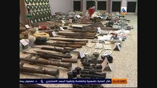 کشف انبار تسلیحاتی داعش در عراق