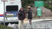 شرمنده شدن یک گروه فیلم برداری از کار یک بی خانمان