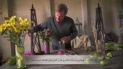 شیوه ساخت گلدان دکوری با ابزاری ساده