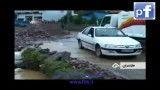 طوفان و سیل و گردباد در چالوس و نوشهر