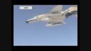 آزمایش موشک -هوا به سطح- دقیق توسط «F۴» و «SU۲۴»