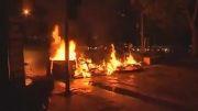 تصاویر زنده از هفتمین شب میدان تقسیم