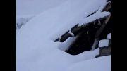 خسارت برف شدید قطع برق و راه های ارتباطی(کمک)