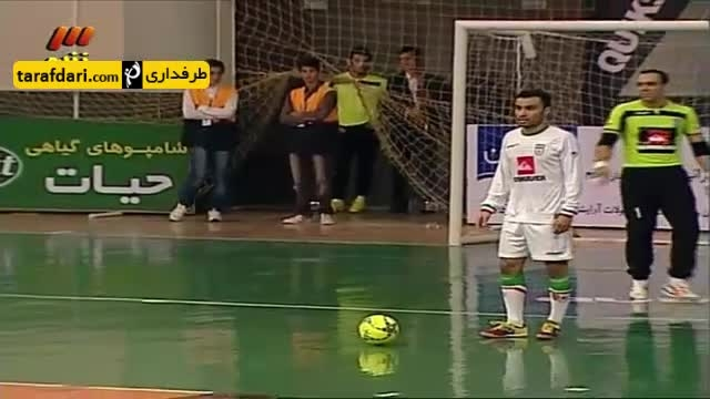 خلاصه بازی تیم فوتسال ایران 3-1 تیم ملی فوتسال روسیه