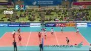 بازی های آسیایی-خلاصه بازی والیبال ایران 3-0 هنگ کنگ