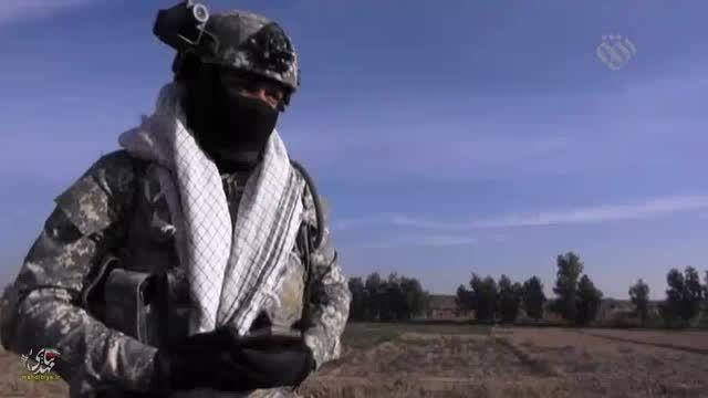 تک تیراندازها و تله های انفجاری داعش در مسیر (5)