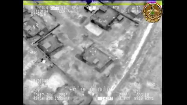 حمله نیروی هوایی عراق به کفتارهای داعشی
