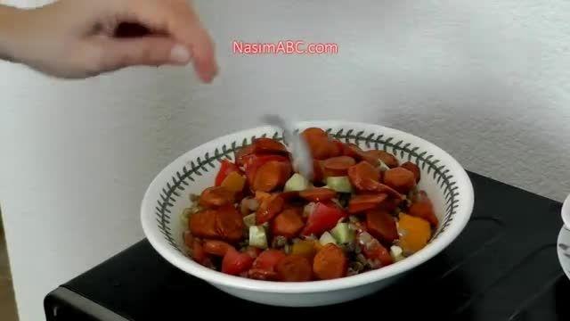 گیاهخواران در روز چه می خورند - برنامه غذایی