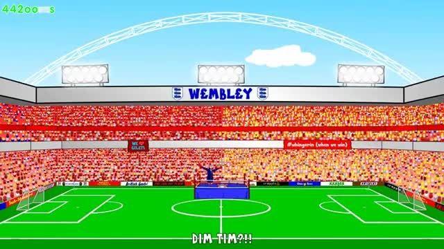 انیمیشن جالب بازی : آرسنال 4 - 0 استون ویلا (2)