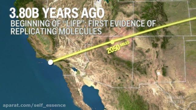 جدول زمانی مختصر از تاریخچه زمین | سرچشمه
