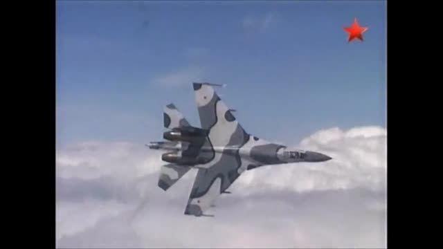 جنگنده های سوخوی روسیه