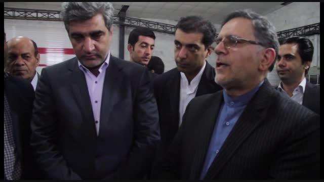 بازدید رییس بانک مرکزی از منطقه ویژه اقتصادی بوشهر