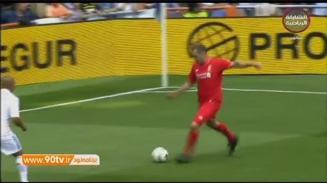 خلاصه بازی: ستارگان رئال مادرید ۴-۲ ستارگان لیورپول