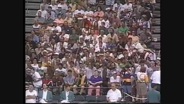 دلاورمرد کشتی ایران رسول خادم(فینال المپیک اتلانتا1996)