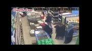 دزدی جالب دختران با حجاب