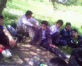 رقابت دو نفر.ترانه کُردی در اردوی دانش آموزی شهرستان اشنویه
