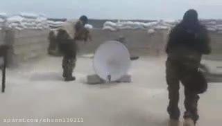دستگیری تک تیر انداز داعشی در حین تیراندازی