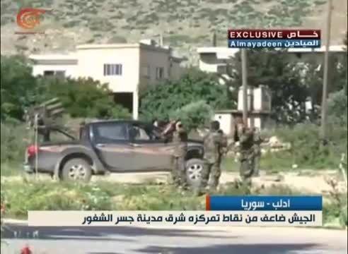جولان سردار سلیمانی در اولین قدم در کنار ارتش سوریه