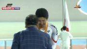 مراسم اهدای مدال طلا دانشور در اینچئون ۲۰۱۴