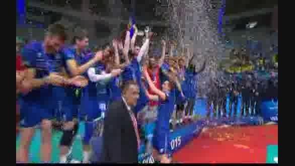 فرانسه قهرمان لیگ جهانی والیبال
