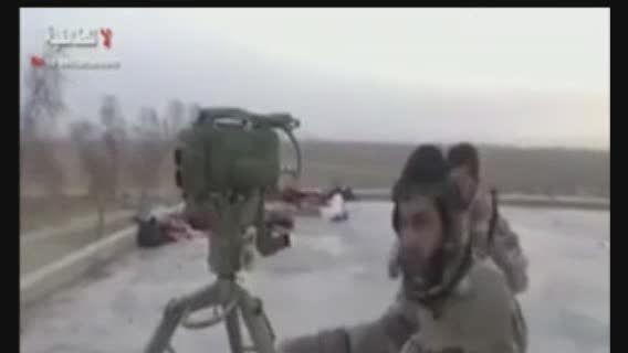 شکار عناصر داعش با کورنت در سامراء