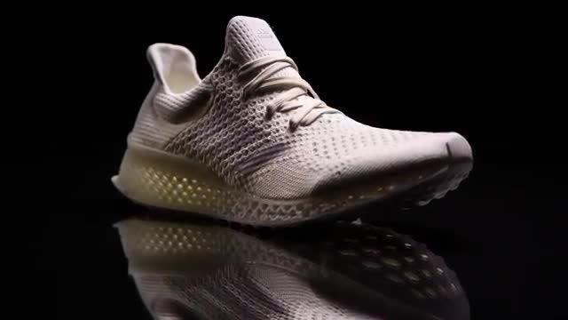 ساخت کفش ورزشی آدیداس با پرینتر سه بعدی