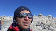 بر فراز قله دماوند