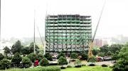 ساخت هتلی در چین در شش روز