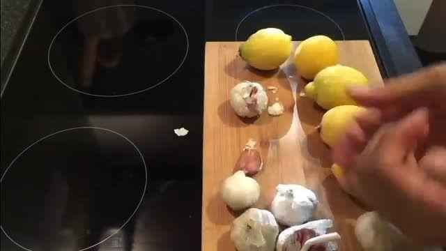 روش تهیه عصاره سیر و لیمو برای پاک کردن رگها