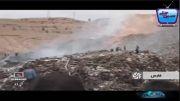 کارگران دفن زباله زنده زنده در آتش سوختند!