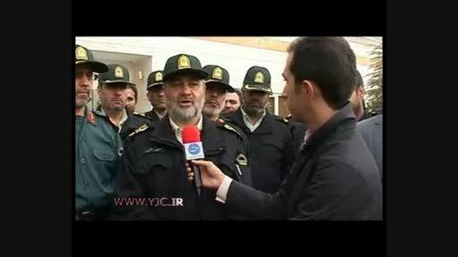 واکنش فرمانده ناجا به تجاوز به دختران در قزوین