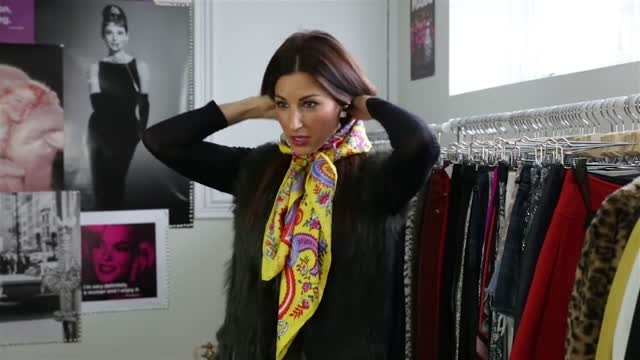 مدل های مختلف بستن روسری